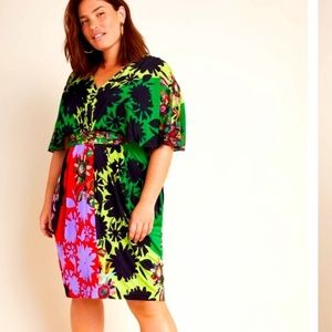NWT ANTHROPOLOGIE RannaGill Sabatina Mini Dress 1X